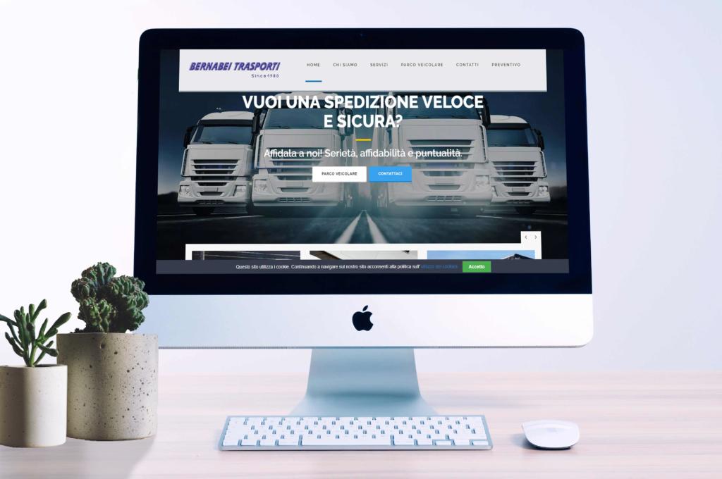 Sito web azienda di trasporti