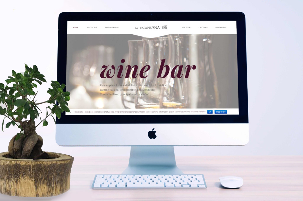 Sito web Capannina wine bar