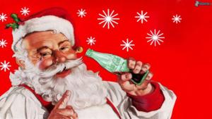 Pubblicità natalizia di Coca Cola