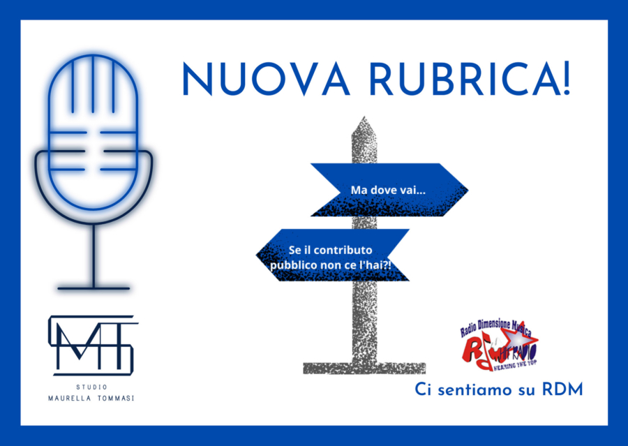 Rubrica Radio RDM per Studio Maurella Tommasi